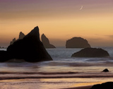 Moonset Prints by Mike Jones