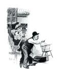 """A Love Story"" page 10 Impression giclée par Norman Rockwell"