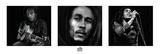 Bob Marley -B&W Poster