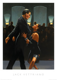 Rumba in Black Print by Jack Vettriano