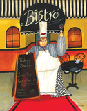 Bistro Print by Jennifer Garant