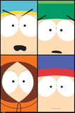 South Park Heads Posters