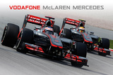 McLaren- F1 Race 2012 Prints