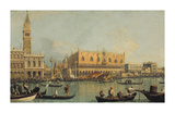 Ducal Palace Venice Premium Giclee Print by  Canaletto