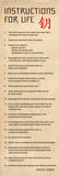 Instructions for Life-Dalai Lama Posters