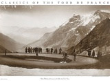 Snow on the Galibier, 1924 Kunstdrucke von  Presse 'E Sports