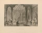 The Bath Premium Giclee Print by Thomas Allom