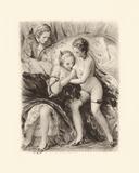 Menage a Trois Premium Giclee Print by Gabriel Ferrier