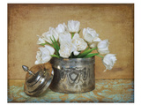 Vintage Tulips II Kunstdruck von Cristin Atria