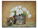 Vintage Tulips II Poster by Cristin Atria