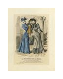 Le Moniteur De La Mode II Premium Giclee Print by A. Chillot