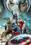 The Avengers- 3 Dimensional Kunstdrucke