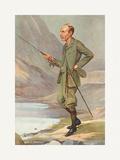 Postmaster General Premium Giclee Print by  Spy (Leslie M. Ward)
