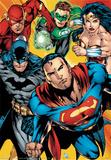DC Comics-Heroes Posters
