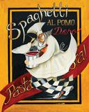 Spaghetti Chef Affiches par Jennifer Garant
