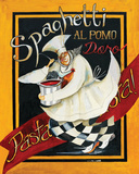 Spaghetti Chef Prints by Jennifer Garant