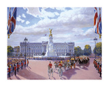 Trooping the Colour Premium Giclee Print by Valeriy Chuikov