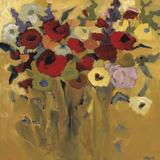 Jewel Bouquet Poster by Jennifer Harwood