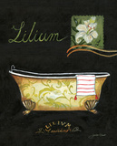 Lilium Bath Posters by Jennifer Garant