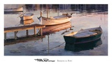 Barques al Port Art by Poch Romeu