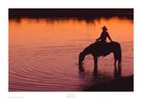Texas Sunset Posters par Robert Dawson