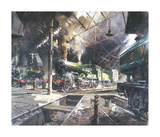 Castles at Tysley Premium Giclee Print by Terence Cuneo