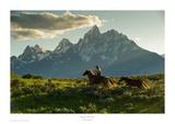 Along the Teton Trail Posters av Robert Dawson