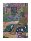 Her Name is Vairaumati Premium Giclee Print by Paul Gauguin