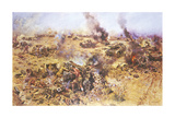 The Battle of Knightsbridge, 1942 Premium Giclee Print by Terence Cuneo