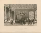 Interior of a Turkish Caffinet Premium Giclee Print by Thomas Allom