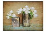 Vintage Tulips I Psteres por Cristin Atria