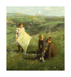 Powers of Aeriel Navigation Premium Giclee Print by Harold Harvey