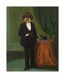 Merchant's Top Hat Premium Giclee Print by Thierry Poncelet