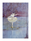 The Swan Dance Premium Giclee Print by  Marygold