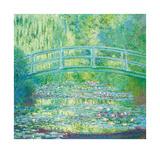Claude Monet - The Waterlily Pond with Japanese Bridge, 1899 Prémiové edice