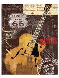Chi-town Poster von Keith Mallett