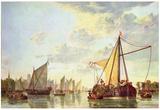 Aelbert Cuyp (Port of Dordrecht) Posters