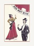 Gaiety Girls, High Muff Revue Premium Giclee Print