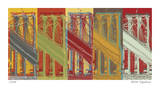 Brooklyn Bridge Giclee Print by Mj Lew