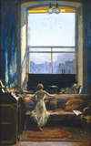 Daylight Raid from My Studio Window Premium Giclee Print by Sir John Lavery