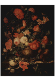 Abraham Mignon (Flowers in a vase) Poster
