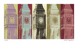Big Ben Giclee Print by Mj Lew