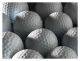 Golf Balls Poster by Richard Reynolds