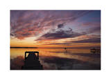 Sunset Dock Giclee Print by Matthew Lusk