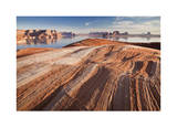Lake Powell Layers of Time II Giclee Print by Donald Paulson