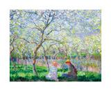 Spring time Eksklusivudgaver af Claude Monet