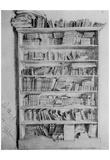 Adolf Friedrich Erdmann of Menzel (Bookcase in Potsdam) Prints