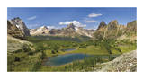 Yoho National Park Panorama Limited Edition by Donald Paulson