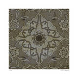 Vintage Tile III Limited Edition by Paula Scaletta