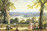 Richmond Hill, Surrey Premium Giclee Print by Myles Birkett Foster